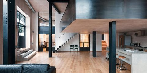 Restyling Project In London Former Warehouse Turns Into A Loft Apartment
