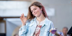"""Maggie Rogers Performs On NBC's """"Today""""..."""