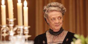 """Maggie Smith es Violet en """"Downton Abbey"""""""