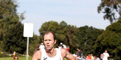 Pete Magill running cross country
