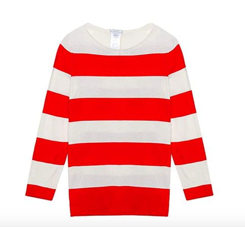 Clothing, White, Sleeve, Red, Long-sleeved t-shirt, Sweater, Outerwear, T-shirt, Jersey, Top,