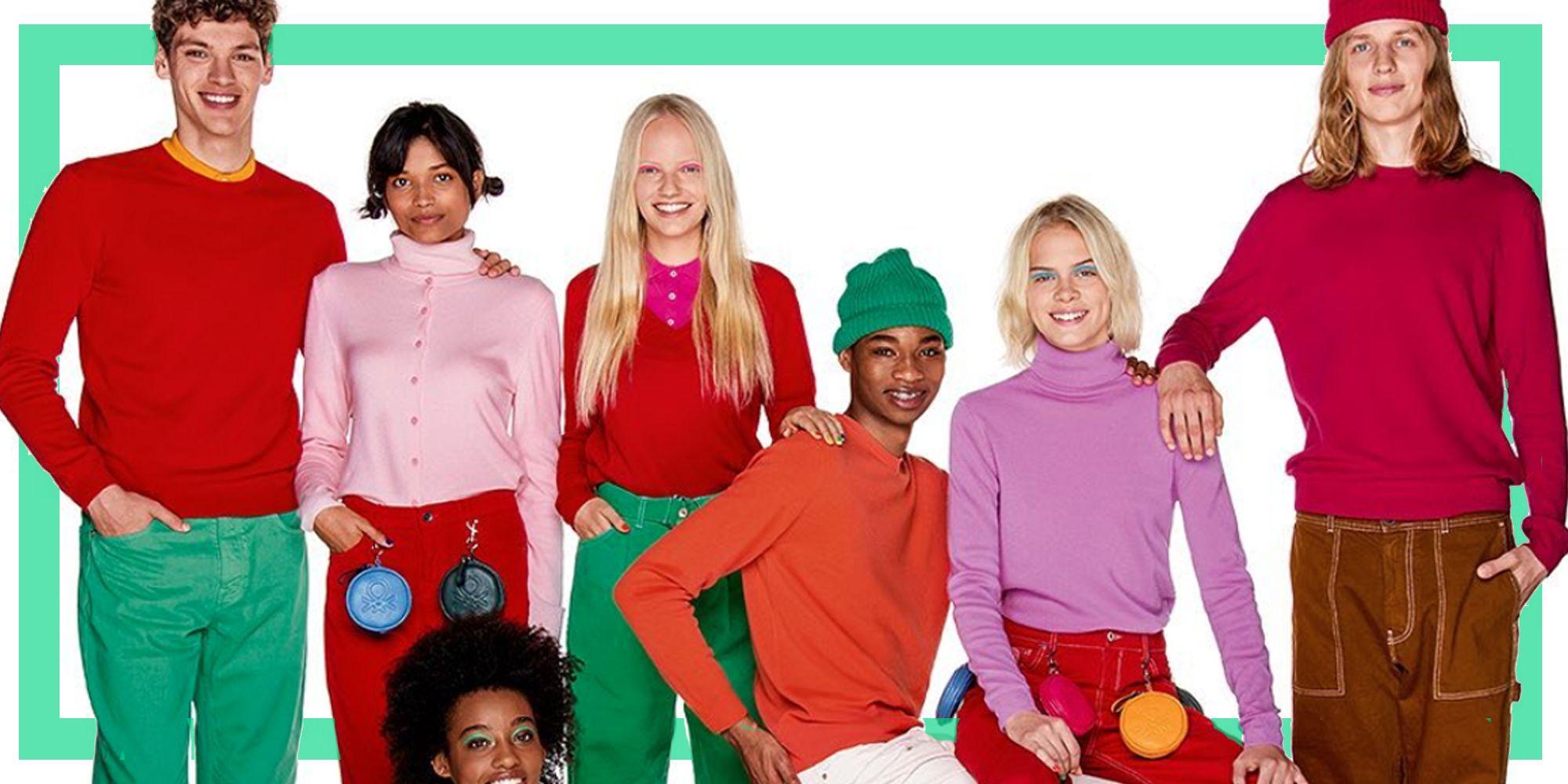 United Colors of Benetton Maglia Collo Alto Merino Basica