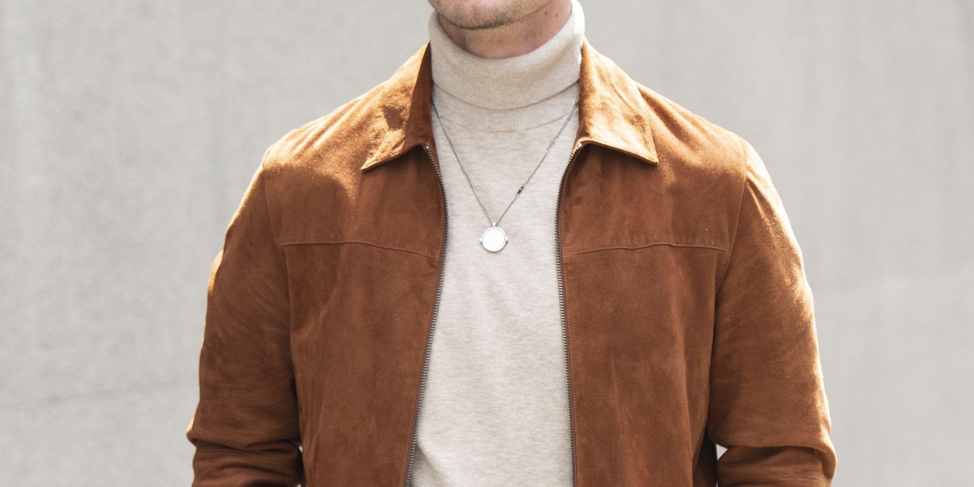 Maglione girocollo in misto cashmere e seta nero