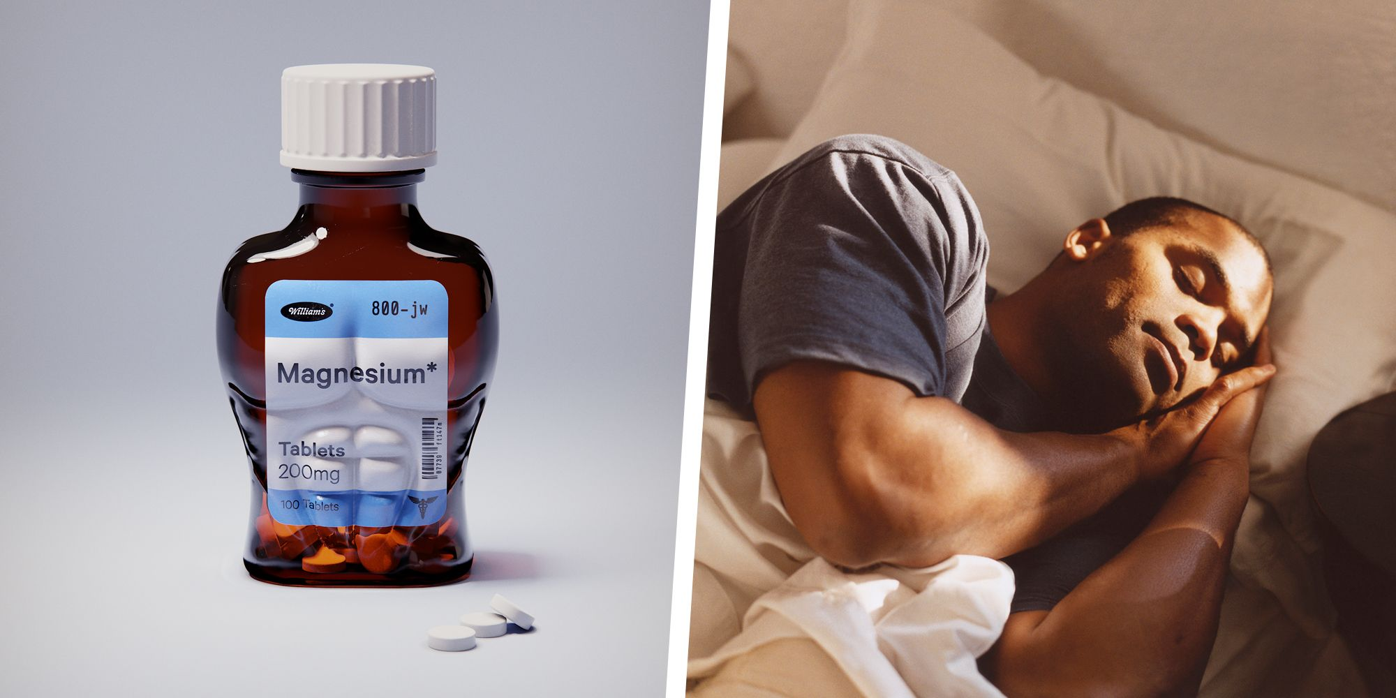 The One Supplement That Science Says Can Help You Get a Good Night's Sleep