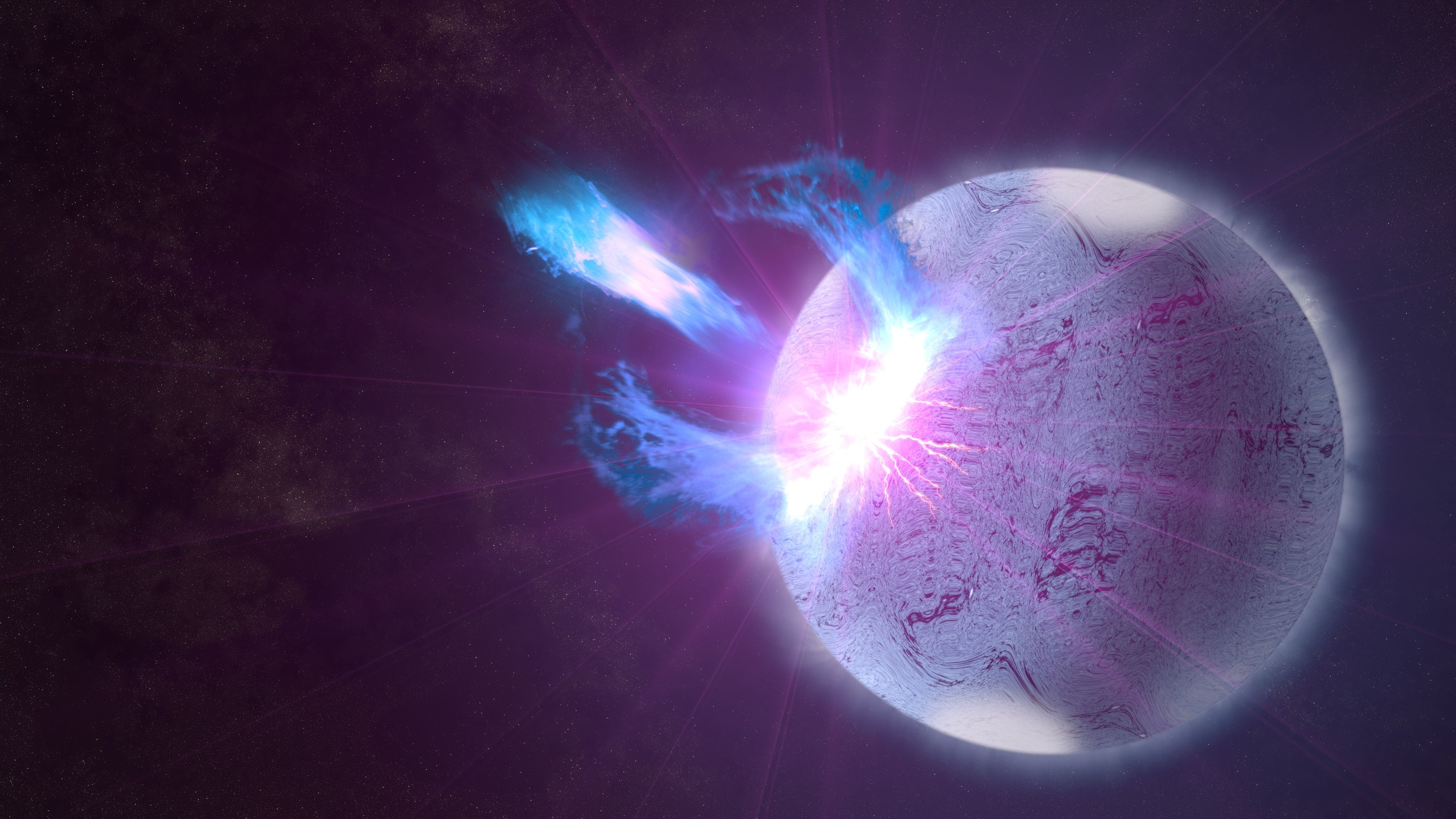 Astronomers Find Mass Limit for Neutron Stars Before Collapsing Into Black Holes