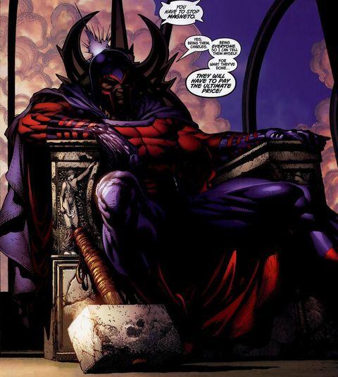 Personajes que han levantado el martillo de Thor: Magneto