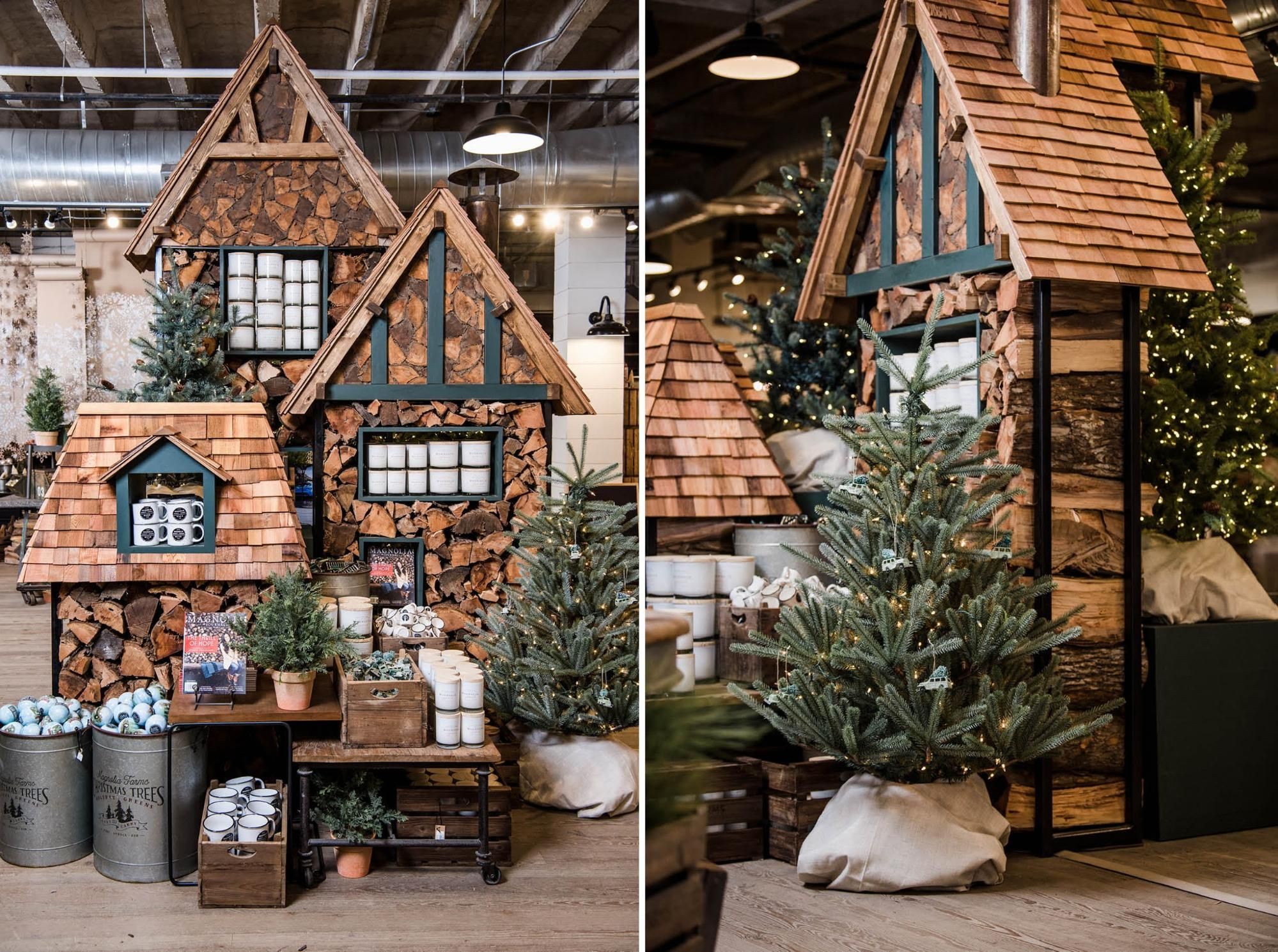 Watch Magnolia Market Transform For The Holidays