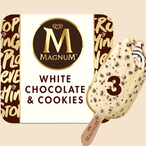 Magnum Has Launched A New Mouth Watering White Chocolate