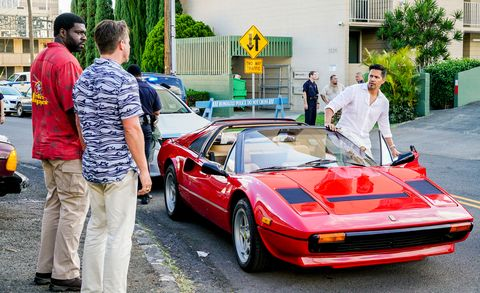 Ferrari Still Stars In Magnum P I Reboot On Cbs But Lead Actor Is New