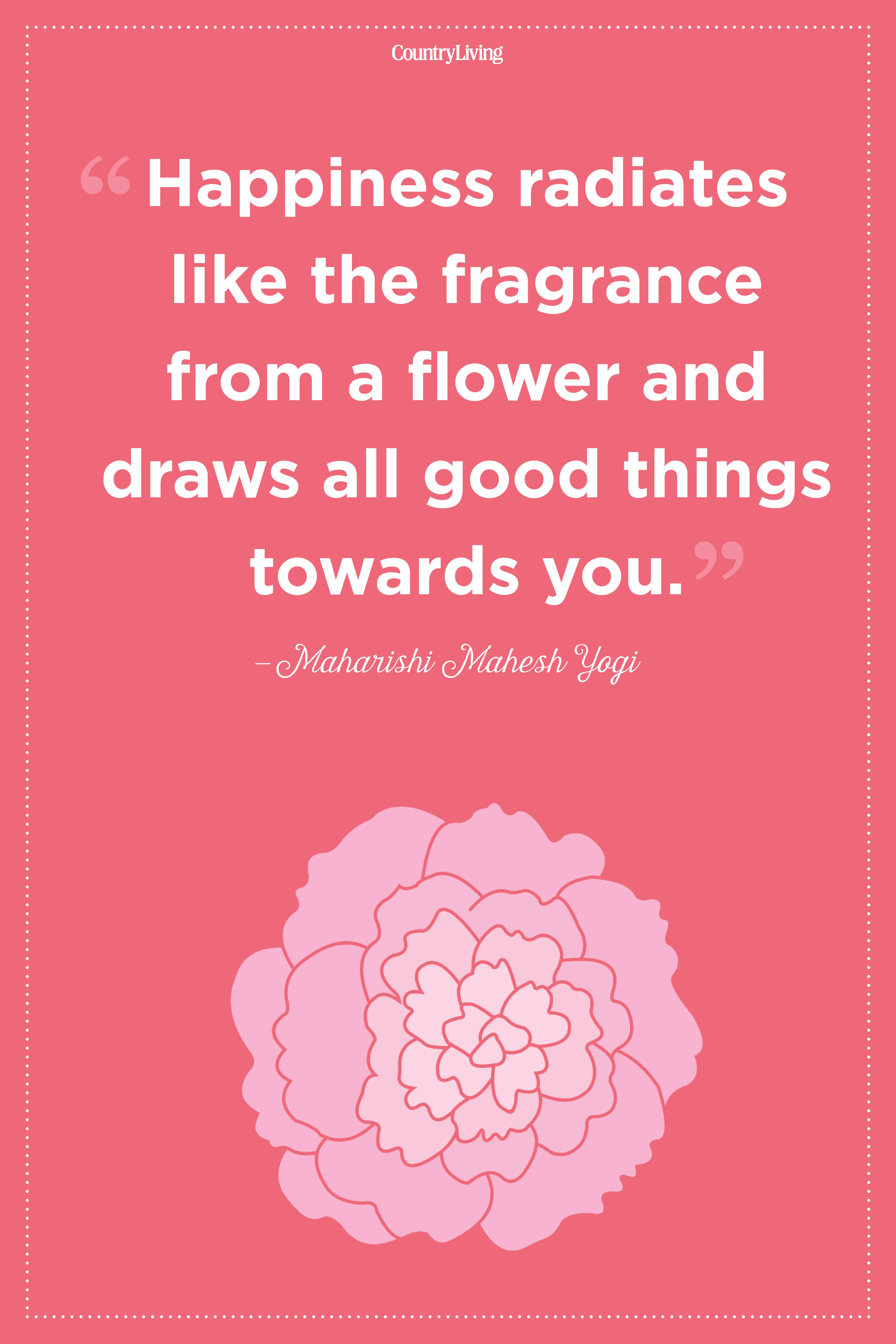 20 Inspirational Flower Quotes