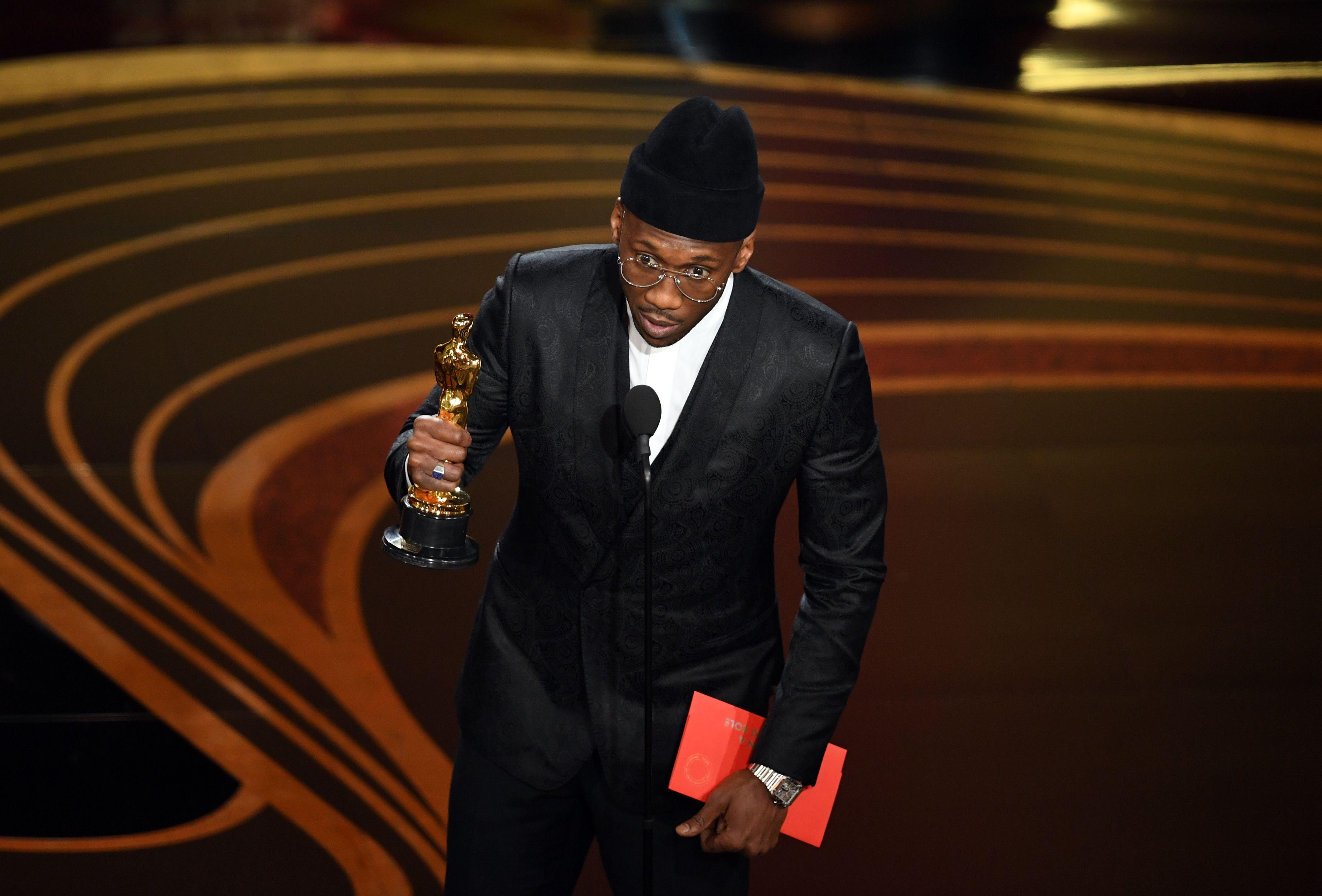 Oscars 2019: Mahershala Ali gana como Mejor Actor de Reparto - Palmarés Oscars 2019
