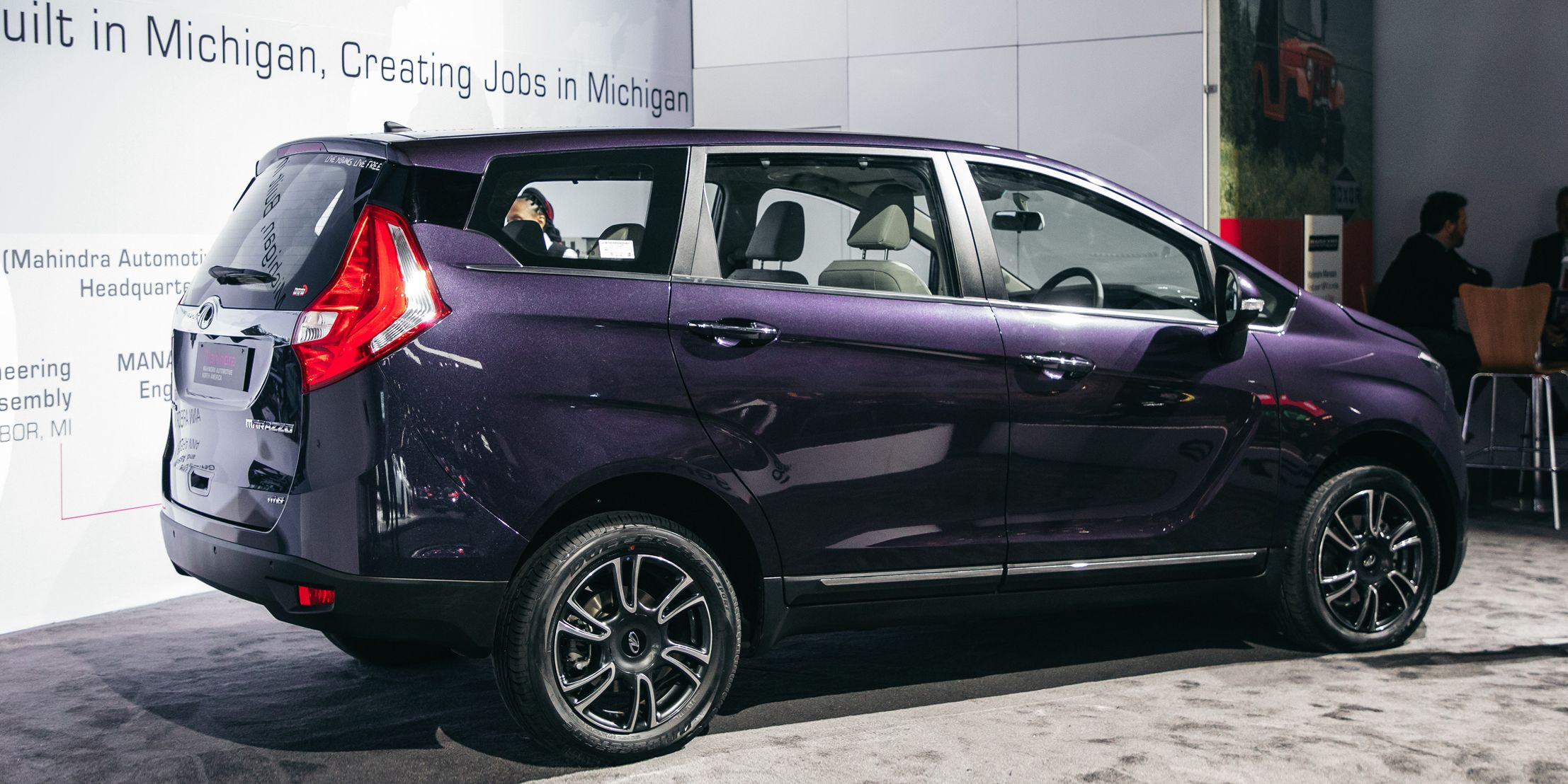 The Mahindra Marazzo, Made in Michigan, Will Revolutionize Safety on India's Roads