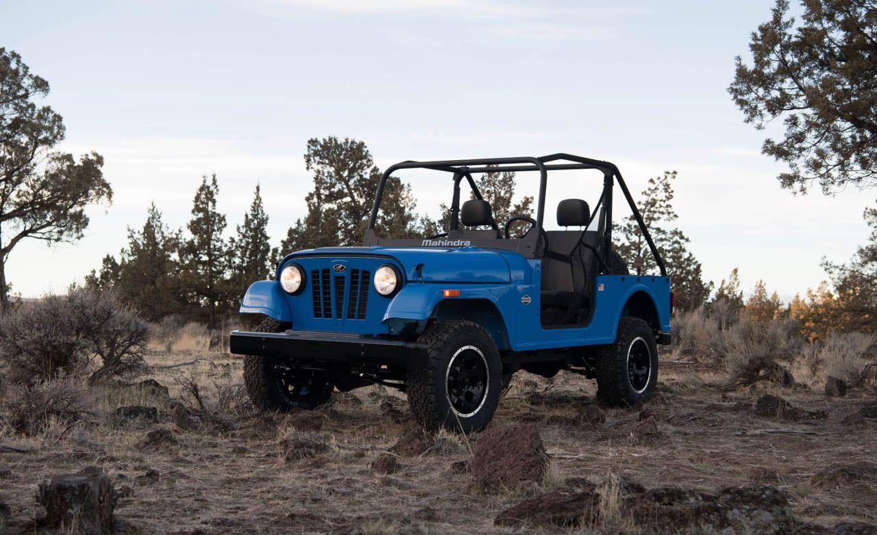 Jeep Files Formal Complaint To Stop Mahindra S Roxor 4x4 News