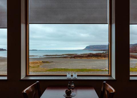 Room, Window, Sky, Interior design, House, Sea, Daylighting, Real estate, Glass, Architecture,
