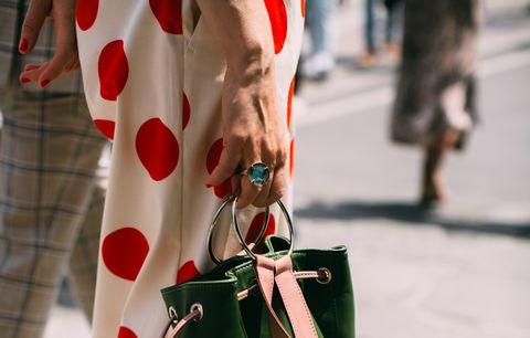 Street fashion, Red, Fashion, Design, Pattern, Carmine, Style, Fashion design,