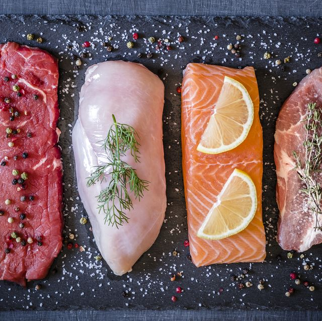 Different types of animal protein