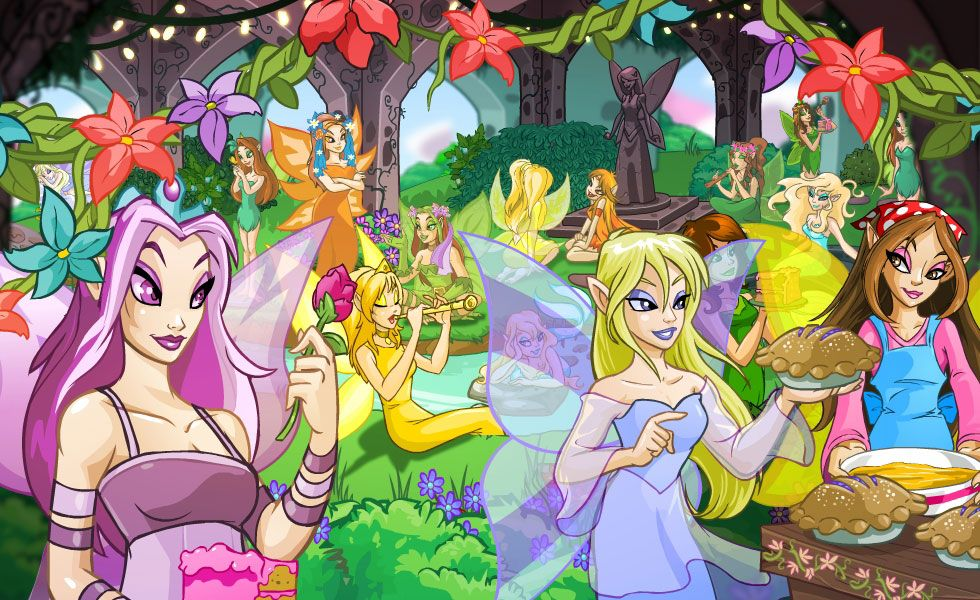 A Wholly Biased Ranking Of Neopets Faeries Based On Their Makeup Skills