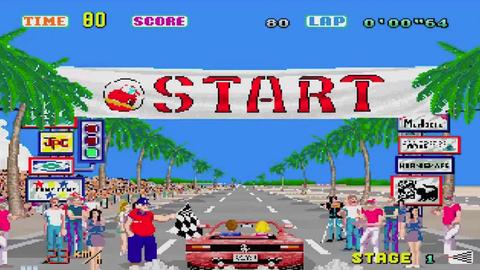 Videojuego sega out run arcade