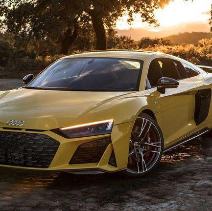 アウディ新型「R8」、強力なV10エンジンを搭載したスーパーカー