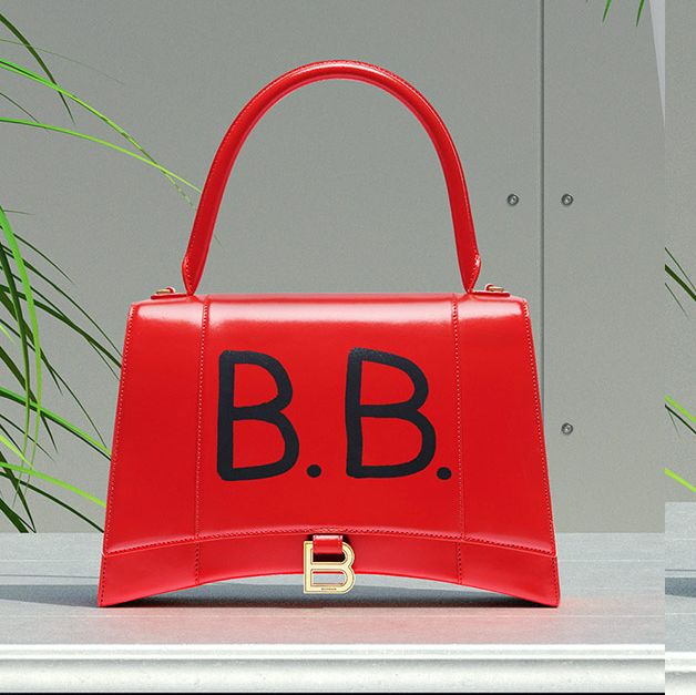 Handbag, Bag, Product, Red, Fashion accessory, Font, Material property, Design, Brand, Luggage and bags,