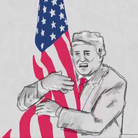 ドナルド・トランプの選挙動画の中にある、実に奇妙な場面