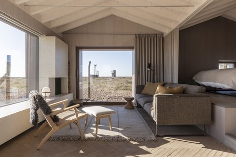 Radar house living room Dungeness