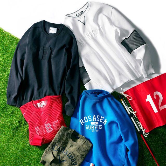 ハイテクセーター, セーター , ゴルフ, メンクラ,ファッション