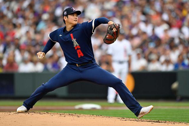 大谷翔平、mlb、メジャーリーグベースボール、野球、オールスターゲーム、オールスター, アメリカ、海外