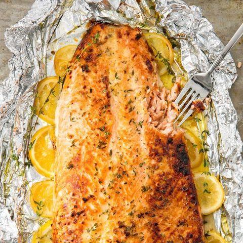 Dish, Food, Cuisine, Ingredient, Roasting, Hendl, Garnish, Sole meunière, Recipe, Fish,