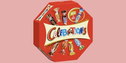 Do Celebrations Now Contain Milky Way Crispy Rolls