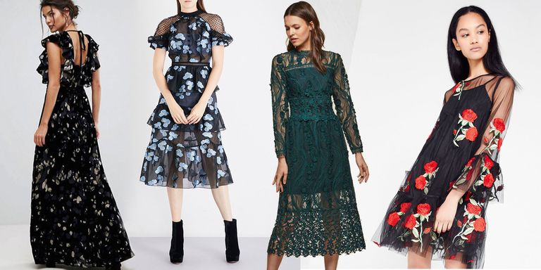 Guest wedding dresses for winter
