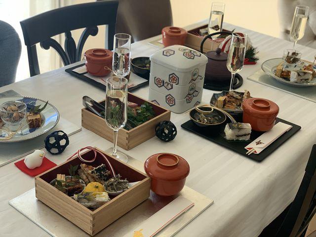 japanese moden tablesetting