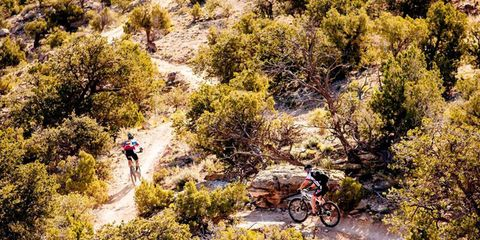 Competitors rip through juniper on the second day of the Grand Junction Off-Road