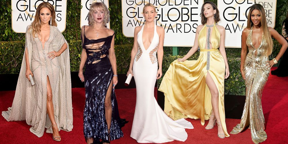 Sexy outfits golden globes