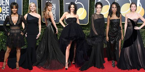 Getty Images The 2018 Golden Globes Red Carpet