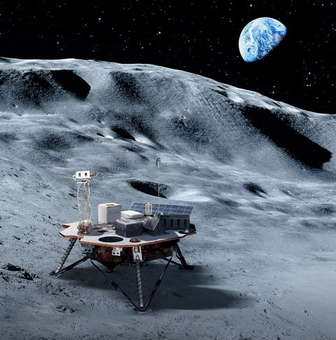 new nasa commercial lander
