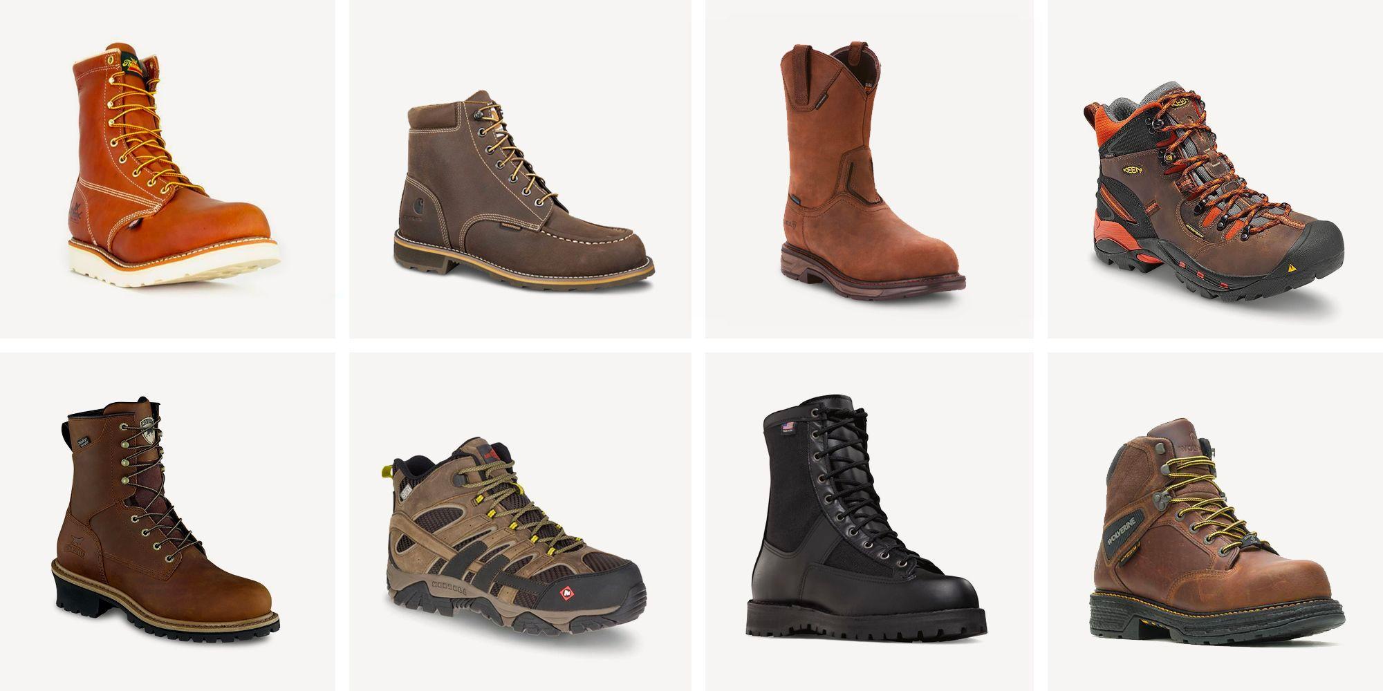 Top Steel Toe Work Boots