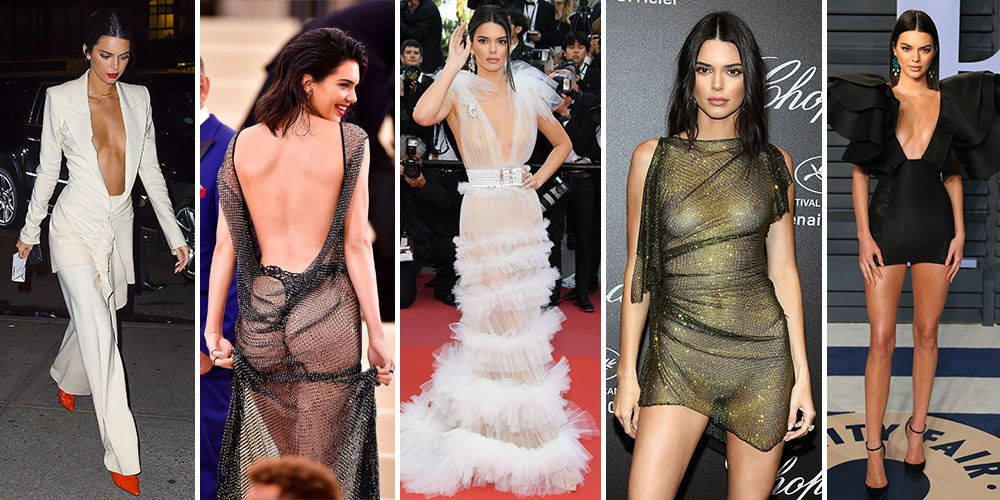 Kendall Jenners Most Naked Outfits Ever-8182