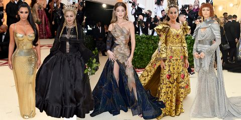met gala 2018 the best celebrity outfits from the met ball