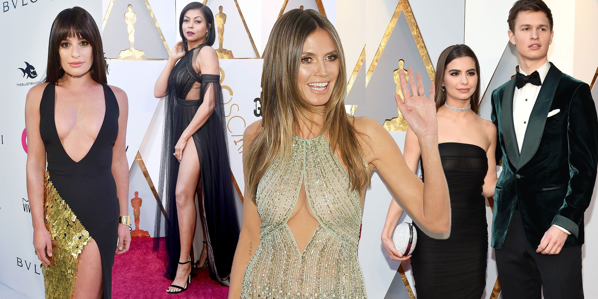 Oscars 2018 naked dresses