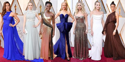 Oscars 2018 All The Best Dresses From The Red Carpet