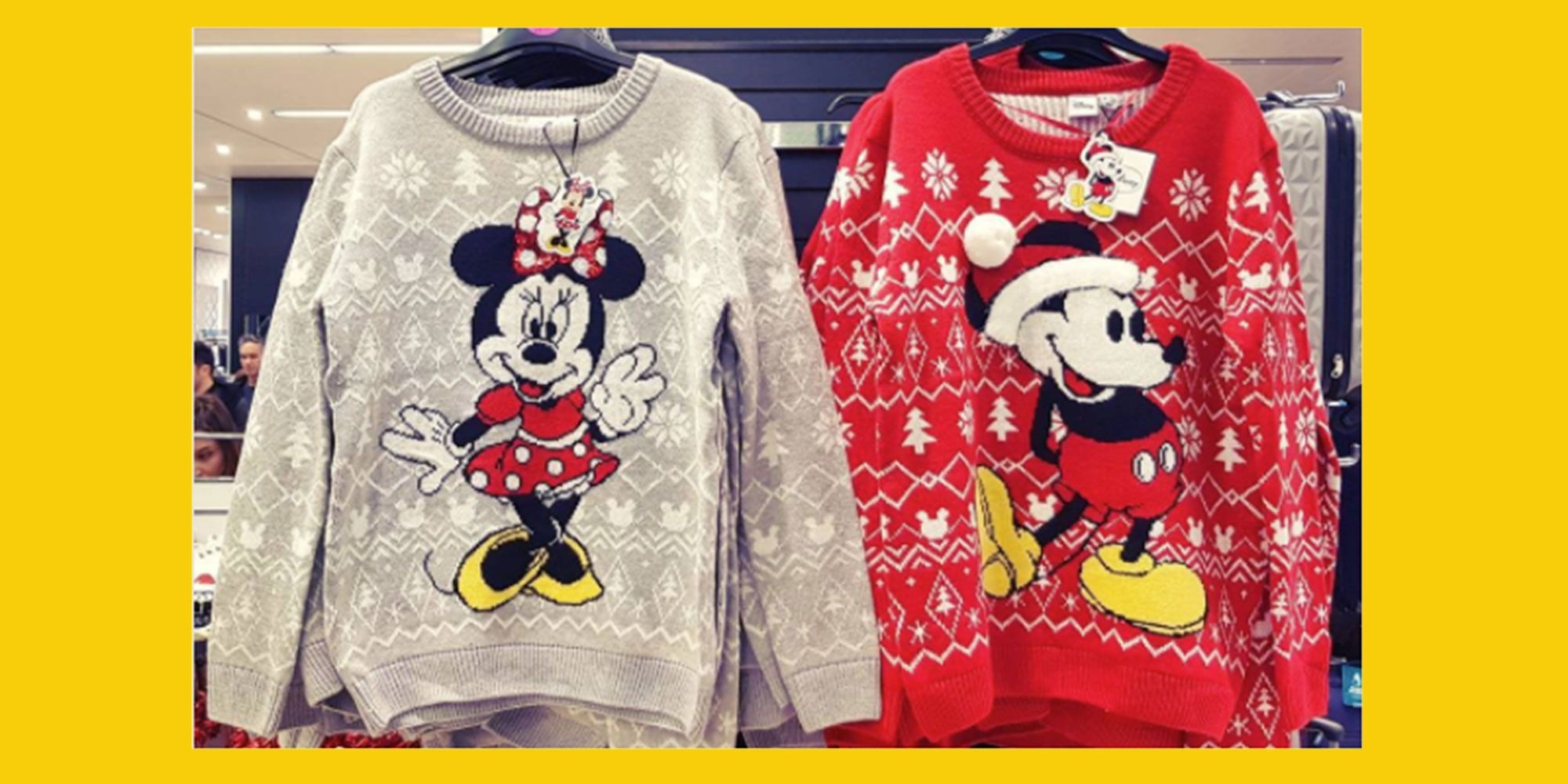 Disney Christmas Shirt Designs.Primark Is Selling A Range Of Disney Christmas Jumpers And