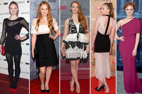 Sophie Turner Game of Thrones transformation