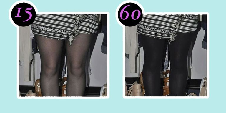 Darkness pantyhose and getting — photo 6