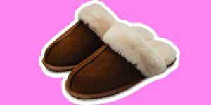 Aldi sheepskin slippers