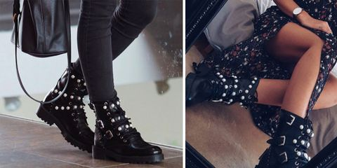 02306e968a0 These Zara biker boots are all over Instagram