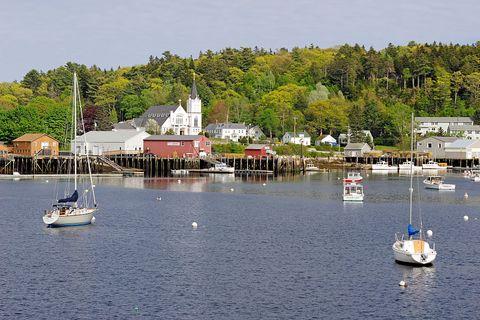 maine coast boothbay harbor boats