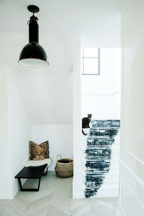 Nook under staircase ideas