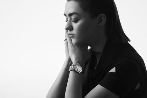 maisie williams, una de las embajadoras pasha, de cartier, de 2020
