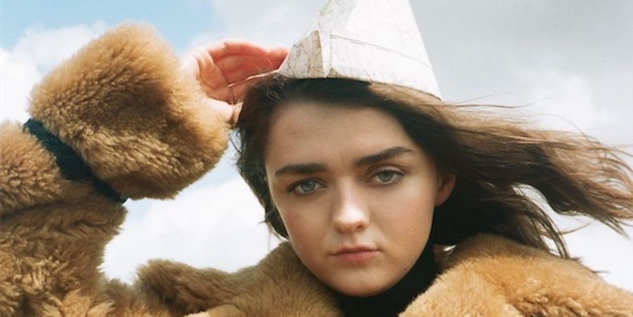 Maisie Williams Celebrated The End Of GoT With The Most Un-Arya Hair Colour
